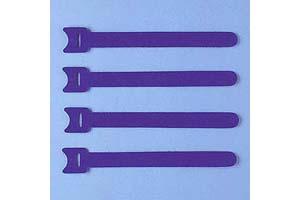 【サンワサプライ】 ケーブルタイ(マジックテープ型、長さ150mm、青色、4本入り)