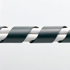 【サンワサプライ】 スパイラルチューブ(内寸12mm×長さ2m、黒色)