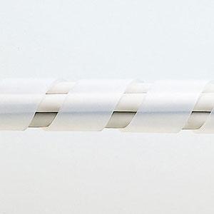 【サンワサプライ】 スパイラルチューブ(内寸12mm×長さ2m、白色)