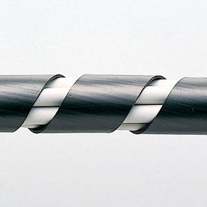 【サンワサプライ】 スパイラルチューブ(内寸15mm×長さ2m、黒色)