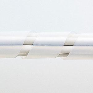 【サンワサプライ】 スパイラルチューブ(内寸15mm×長さ5m、白色)