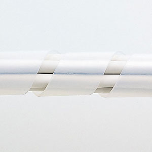 【サンワサプライ】 スパイラルチューブ(内寸15mm×長さ2m、白色)