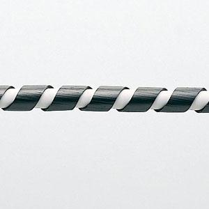 【サンワサプライ】 スパイラルチューブ(内寸4mm×長さ2m、黒色)