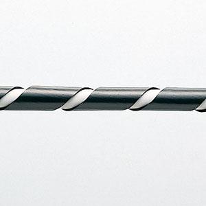 【サンワサプライ】 スパイラルチューブ(内寸6mm×長さ2m、黒色)