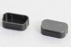 防塵キャップ D-sub 9pin プラグ側コネクタ用 黒