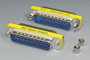 D-subコネクタ用 変換アダプタ 25pin (M2.6ミリネジ)  【在庫限り販売中止】