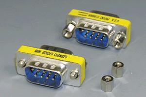 D-subコネクタ用 変換アダプタ 9pin (M2.6ミリネジ) 【在庫限り販売中止】