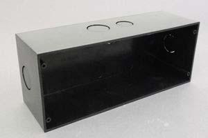 組込型AVプレート用バックボックス