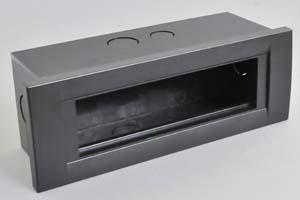 埋込型AVボックスセット  3.5モジュールタイプ(45モジュール×3個+45ハーフモジュール×1個を装着可能)