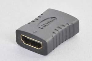 HDMI中継アダプタ タイプAメス-タイプAメス 【HDMI2.0対応】