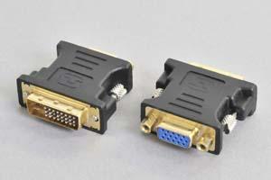 DVI 変換アダプタ DVI-Aオス-ミニD-sub15pinメス