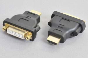 DVI 変換アダプタ DVI-Dメス-HDMIオス