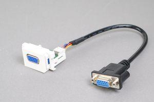 コンセントチップ  コンセント側:VGAメス/ケーブル側:VGAメス