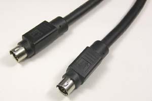ケーブル付きAVコンセント専用中継ケーブル 両側ミニDIN8+1pinオス  【在庫限り販売中止】