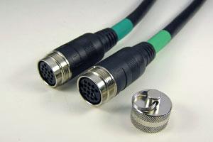 ケーブル付きAVコンセント専用中継ケーブル(アナログRGB長尺用) 両側DIN14pinメス  【在庫限り販売中止】