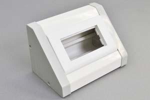 フリー設置型AVボックスセット  2モジュールタイプ(45モジュール×2個または45ハーフモジュール×4個を装着可能)
