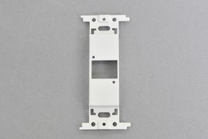 取付枠一体型 コンセントモジュール  【ブランク板】 ノイトリックスタイルコネクタ取付穴 1口