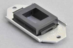 パネルマウント取付枠セット 黒色ヨコ型ガイドチップ