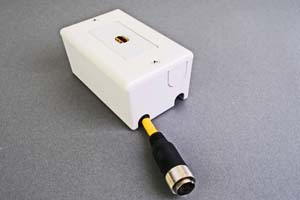 映像・音声用 露出配線ボックス(HDMI用、接続ケーブル付き) 【在庫限り販売中止】