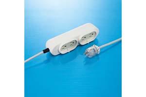 【サンワサプライ】 病院向け特殊電源タップ(3P・4個口、15A・125V(合計1500Wまで)、3Pプラグ長さ3mコード付き)