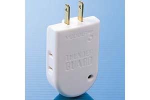 【サンワサプライ】 電源タップ(2P・2個口、15A・125V(合計1500Wまで)、サージ吸収素子内蔵) 【在庫限り販売中止】