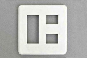 フェースプレート WIDE-iコンセント用 2連 5個用【東芝】