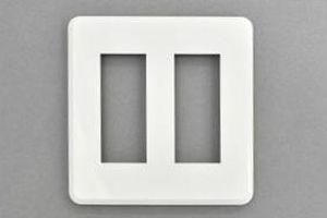 フェースプレート WIDE-iコンセント用 2連 6個用【東芝】